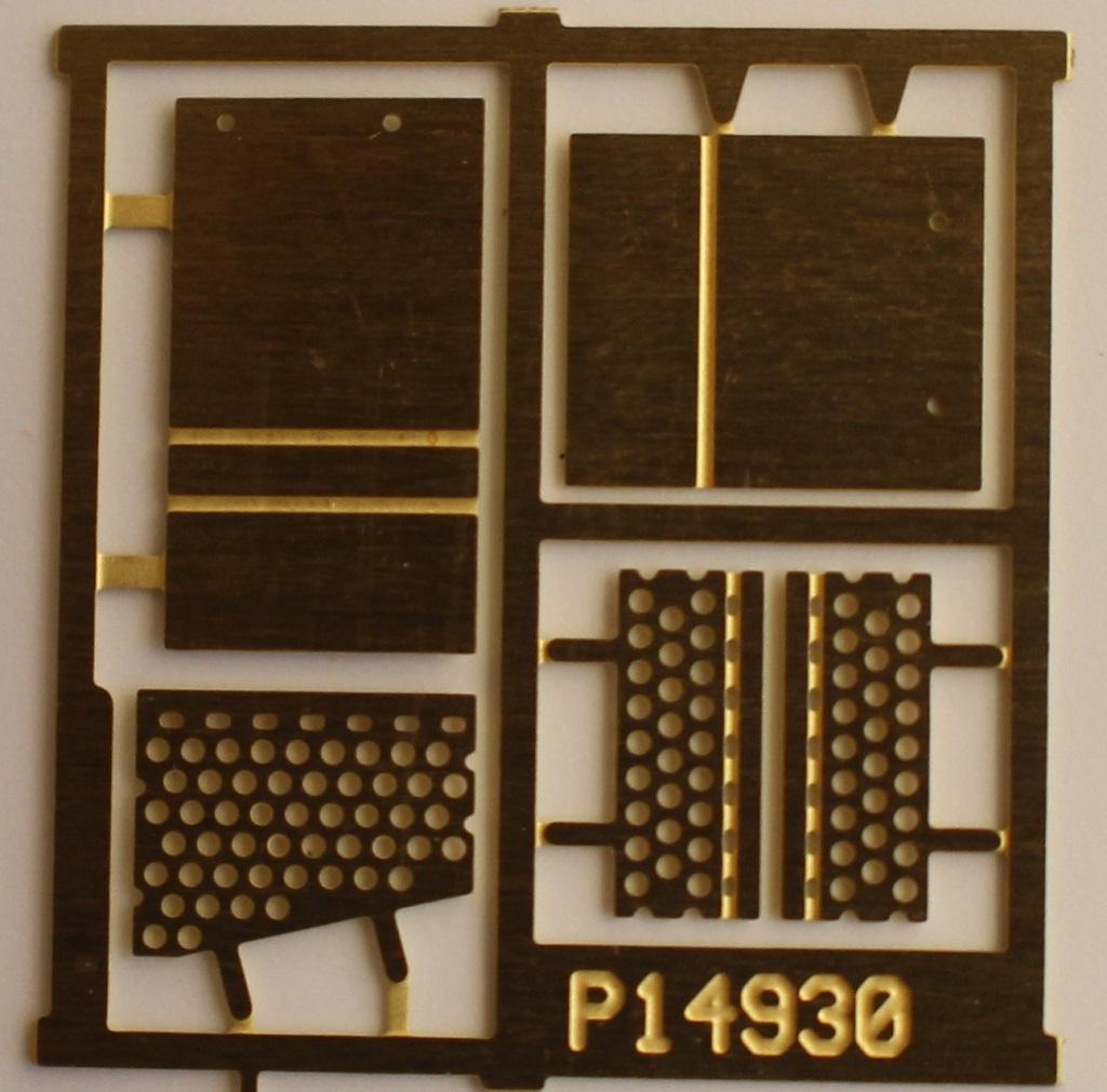 """Plano HO #11894 Coupler Knuckle Baskets w//Lids; 2-20/"""" x 20/"""" x 14/"""""""